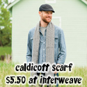 Caldicott Scarf, $5.50 at Interweave