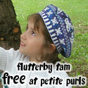 Flutterby Tam, in Petite Purls Issue 14 Winter 2013