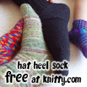 Hat Heel Sock, FREE at knitty.com