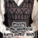 Tracery, in The Unofficial Harry Potter Knits