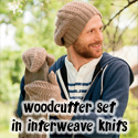 Woodcutter set, in Interweave Knits Holiday Gifts 2013
